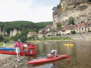 The canoeing trip on the Dordogne is the region's must-do