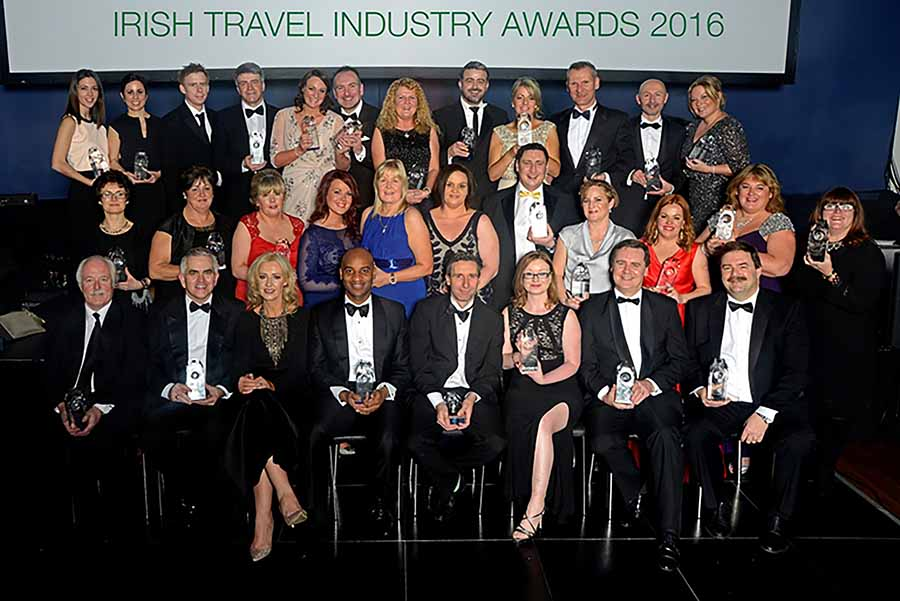 2016 Irish Travel Industry Awards in the Mansion House Jan 21 2016