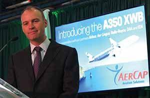 Aengus Kelly, lead customer for Airbus A350 XWB