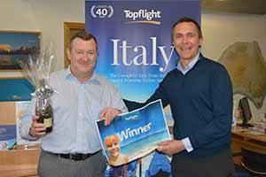 topflight prize Marc Lynch, Abbey Travel & Maurice Shiels, Topflight copy