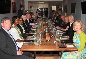 Pictured at a trade event in L'Ecrivain in Dublin to celebrate the first anniversary of Ethiopian's Addis-Dublin-LAX service, June 22 2016