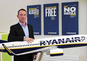 Ryanair appoints Diarmuid Ó Conghaile as Director of Public Affairs