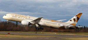 Etihad Airways Boeing 787 Dreamliner now daily to Perth