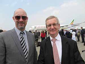 Irish-owned AerCap A350 delivered to Ethiopian Airlines