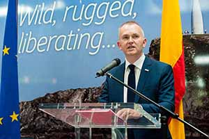 Kevin Cullinane, Head of Communications at Cork Airport at the launch of the new direct service to Madrid with Iberia Express,