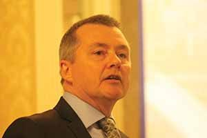 Willie Walsh speaking at the Leinster Society of Chartered Accountants in the Shelbourne Horel, May 20 2015