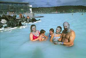 The Blue Lagoon Credit line: Icelandic Tourist Board / Photo: Randall Hyman