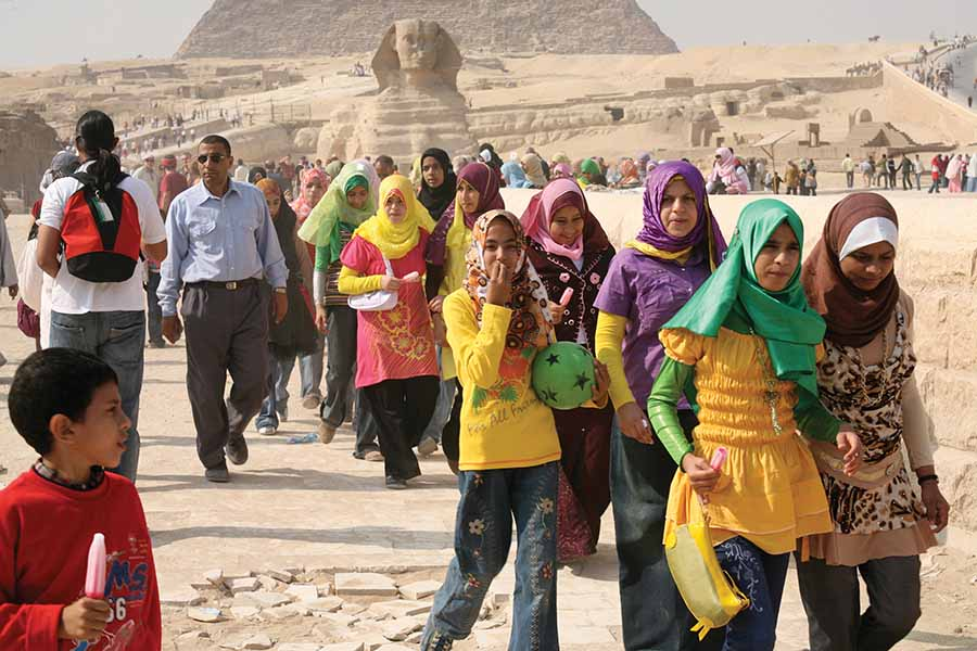Egypt reports 41.9pc drop in tourist arrivals