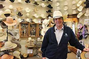 Eoghan Corry of Travel Extra in Hatman Jack's, Wichita, Kansas, April 16 2014