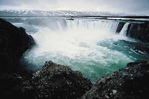 Go›afoss, North-Iceland Credit line: Icelandic Tourist Board / Photo: Dieter Schweizer