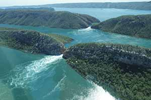 Horizontal Waterfalls Talbot Bay Kimberley region