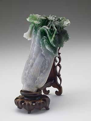 Jadeite Cabbage, Qing Dynasty