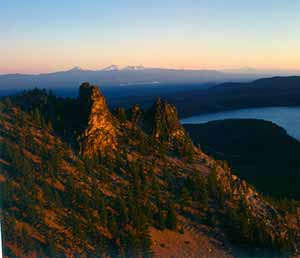 Oregon Paulina Lake & Paulina Peak_Newberry Nat'l