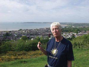 Pat Hughes in Swansea