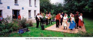 Ulster folk park musicians