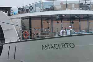 Amacerto docked on the Rhine, Nov 24 2014