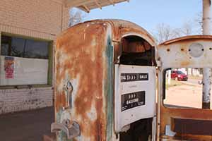 On Route 66 in Oklahoma, April 19 2014