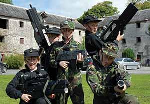 westport house children laser war