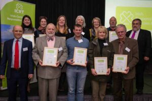 Repsonsible toruism prize winners 2015.