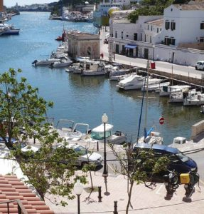Ciutadella Harbour view