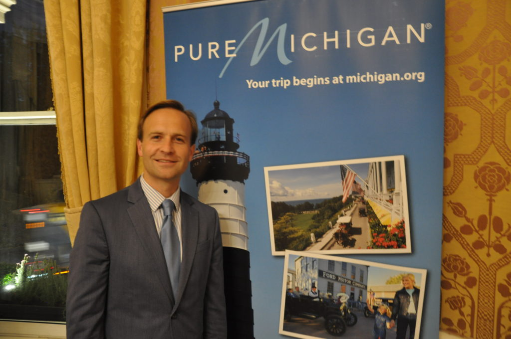 Lieutenant Governor of Michigan Brian Calley