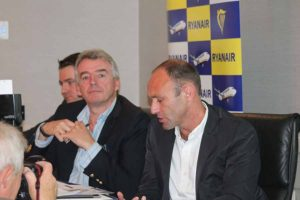 Robin Kiely, Michael O'Leary and Kenny Jacobs