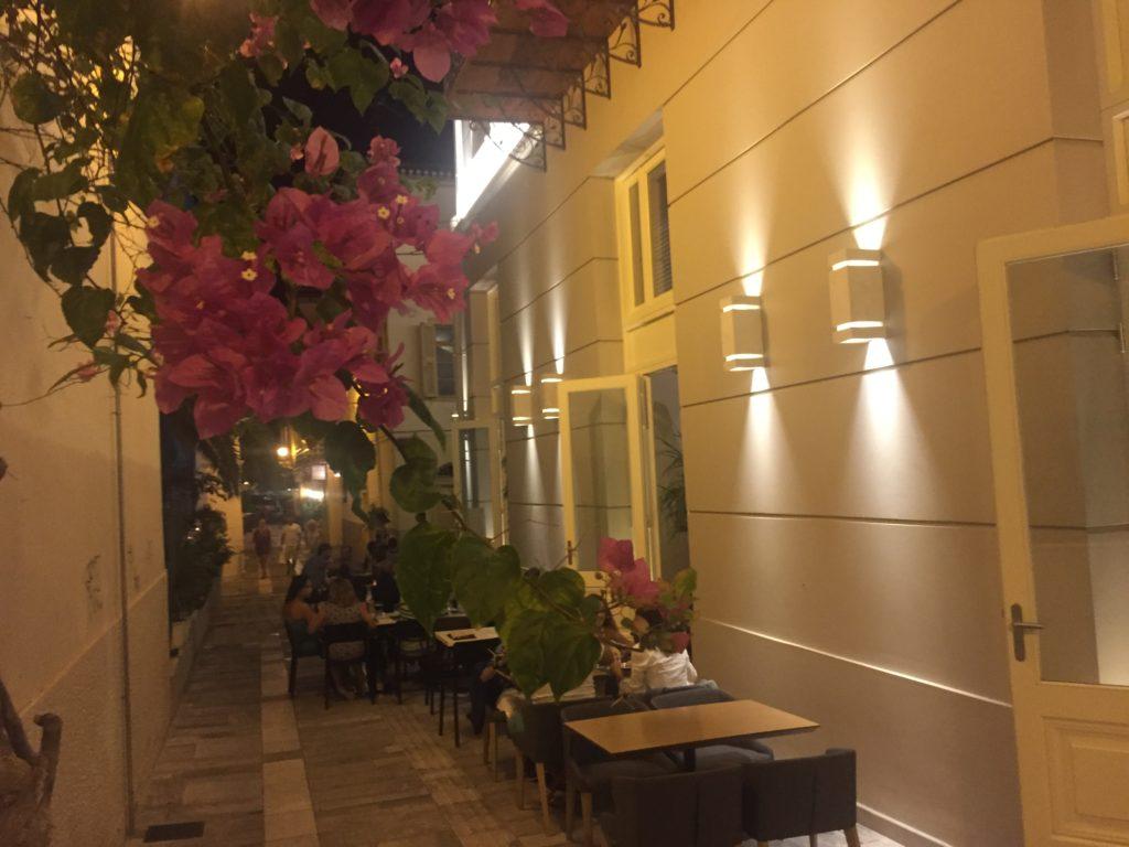 A sidestreet in Nafplio