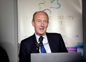 Minister of Tourism Shane Ross TD speaking at the launch of Irish Tourism Industry Awards 2017.