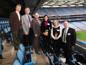 Gerry O'Sullivan, HEA, Michel Jouve, Jerald Kavanagh, Róisín McCabe, Lorraine McIlrath and Padraig Kirby