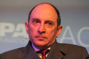 Akbar Al Baker, CEO of Qatar Airlines, speaking at the CAPA ACTE aviation summit in Amsterdam, October 27 2016