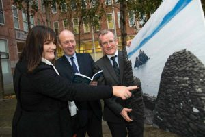 Nóirín Hegarty, Tourism Minister Shane Ross; and Niall Gibbons,.