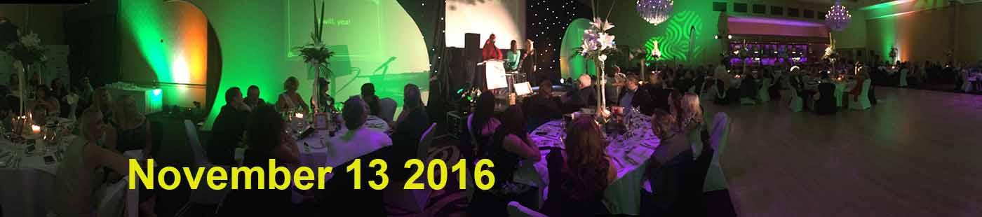 Travel Centres Ireland themed Gala dinner in Mullingar, Novemebr 12 2016