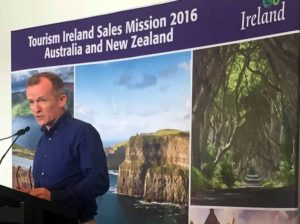 HITTING THE ROAD 'DOWN UNDER'! TOURISM IRELAND LEADS SALES M