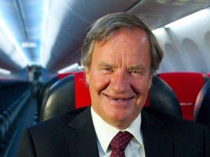 Bjørn Kjos CEO of Norwegian