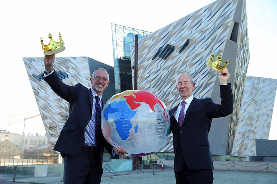 Titanic Belfast best visitor attraction at World Travel Awards