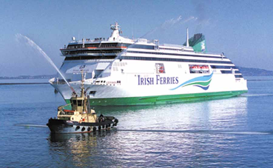 Irish Ferries' Ulysses out of action till next week with propellor problem