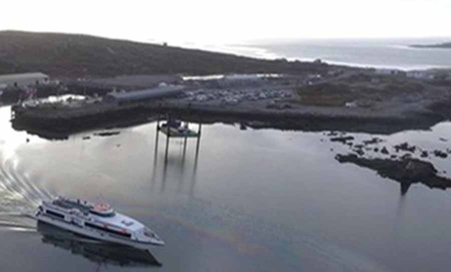 Minister Kyne call for Inis Mór winter ferry service to resume