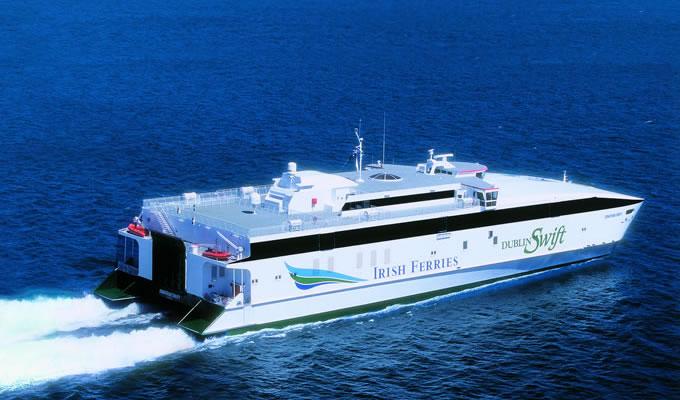 Balearia Eurolineas Maritimas set to buy Irish Ferries fastcraft Jonathan Swift