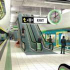 Metro North artist's impression