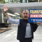 Michael O'Leary in Frankfurt Airport