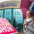 Emma O'Driscoll launches this weekend's Holiday Show 2017, in association with Shannon Airport, at the UL. Photo: Arthur Ellis.
