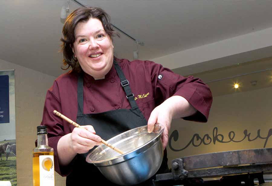 Paula McIntyre is Ulster's food hero for 2017