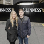 James and Kaitlin Morrissey from New York, the winners of Ireland's first ever Airbnb 'Night At' competition. They were invited behind the gates with rare access into the heart of the legendary St. James's Gate Brewery
