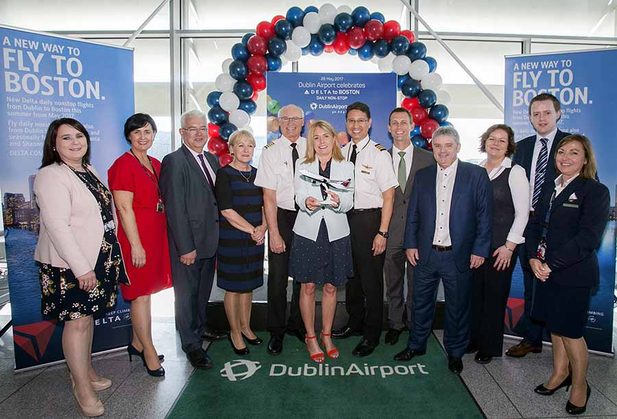Ireland now Delta's 5th biggest European market as Dublin-Boston seasonal route takes off