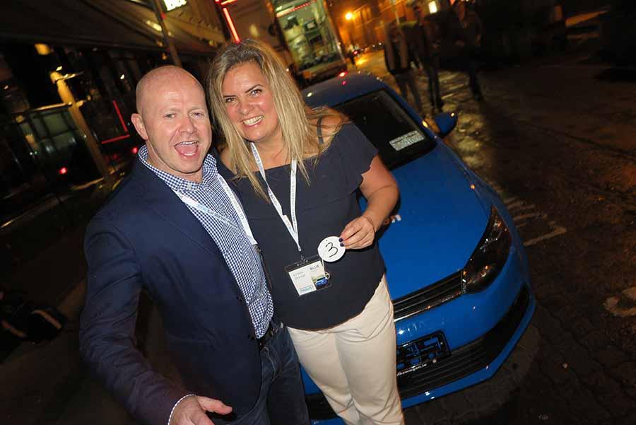 Kristin Skinner wins Blue Insurances Polo magnifico competition