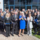 Jobs Minister Mary Mitchell-O'Connor at the opening of Parc Aviation's new Dublin office