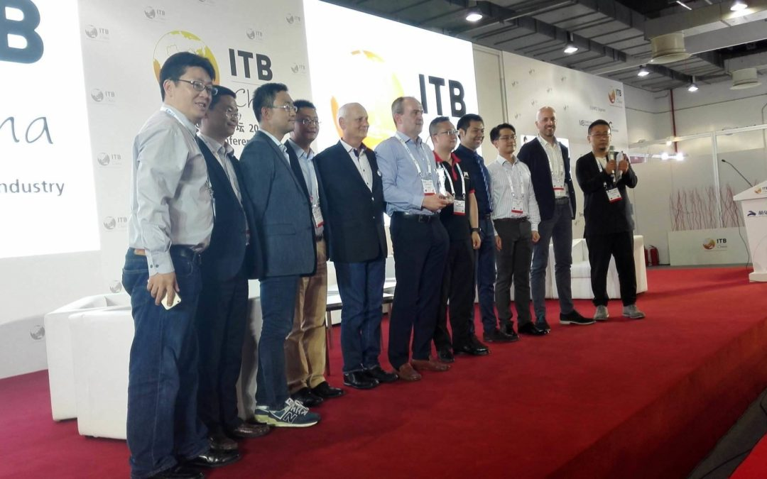 Irish golf-booking travel company scoops prize at ITB in China