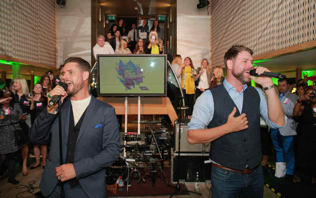 Fáilte Ireland enlists the help of Boyzone and Westlife stars to promote country in London
