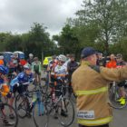 Cycle in memory of Rescue 116 crew at Dublin Airport, June 11, 2017