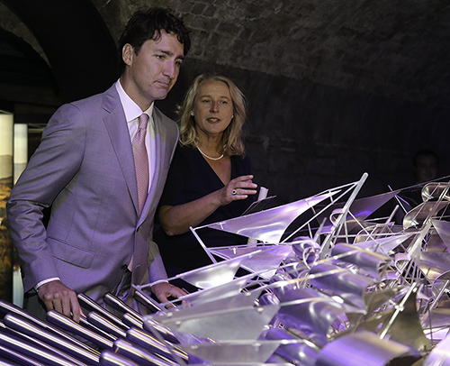 Don't be fooled by the name – Justin Trudeau discovers he's really Irish at EPIC Museum